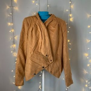 Vero Moda Brown Suede Mercy Jacket NWT